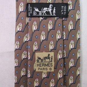 Hermes Accessories - Hermes Men's Silk Tie